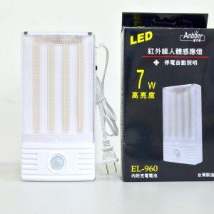紅外線人體感應燈+停電自動照明